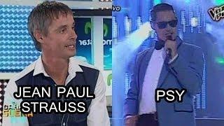 Tu Cara Me Suena 10-11-13 JEAN PAUL STRAUSS se convierte en PSY [10/11/13]
