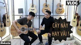 Trải nghiệm shop đàn guitar MADE IN VIETNAM ở Sài Gòn (HT Guitar Center)
