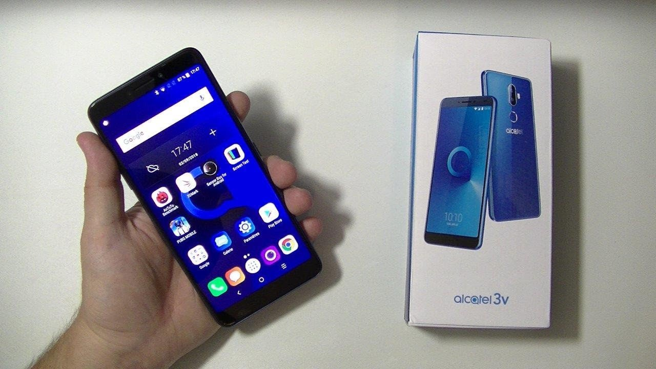 هاتف الكاتيل 3V ونظرةاوليه !!| alcatel 3V Unboxing