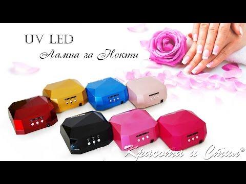 UV LED Лампа за Маникюр 001 - Как се използва?