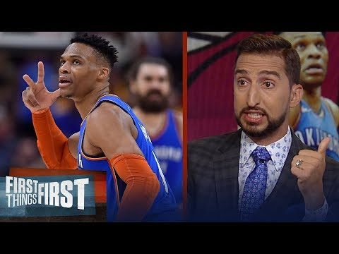 Russell Westbrook trade to the Miami Heat makes sense - Nick Wright | NBA | FIRST THINGS FIRST