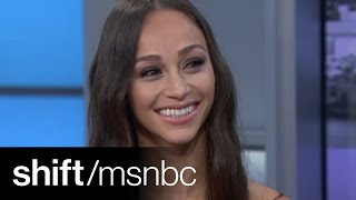 Cara Santana Talks 'Salem' & TheGlamApp | shift | msnbc