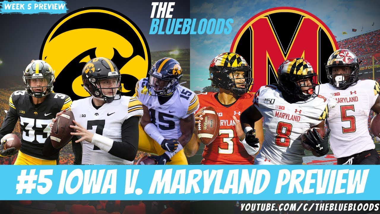 #5 Iowa Hawkeyes vs. Maryland Terrapins: Keys to the Game