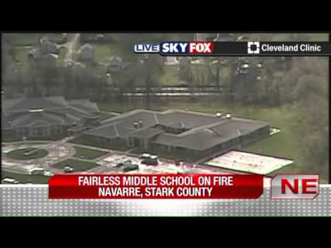 Fire breaks out at Fairless Middle School in Stark County