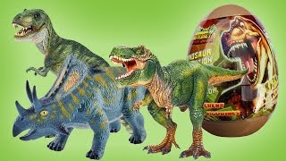 - 9 DINOSAUR EGGS from DINO PLANET EXTRA surprise яйца динозавров trng khng long