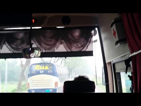 ENA Transport Overtaken By SaintMartin Poribohon Leyland In Dhaka Chittagong Highway