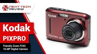 Kodak PIXPRO Friendly Zoom FZ43 16 MP Digital Camera Product Review  – NTR