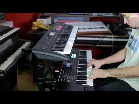KORG Kross 2 VS ROLAND Juno DS 61 All sound