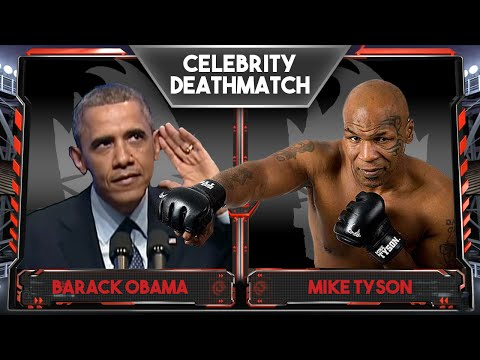 WWE 2K16 Celebrity Deathmatch Tournament :: Barack Obama Vs Mike Tyson