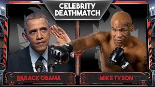 WWE 2K16 Celebrity Deathmatch Tournament :: Barack Obama vs Mike Tyson