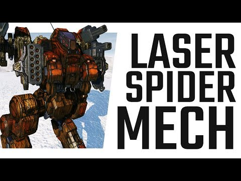 5x Laser and ATM Sun Spider - Mechwarrior Online The Daily Dose #532