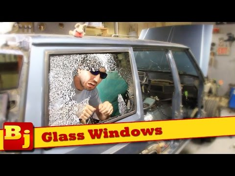 how-to-remove/install-auto-window-glass