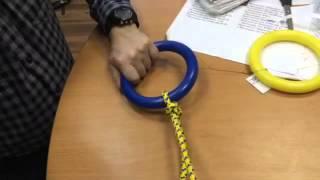 Гимнастические кольца к ДСК «Пионер»: как завязать узел
