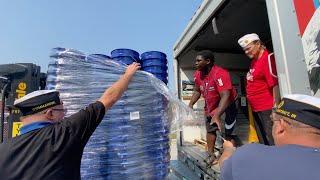 Indiana American Legion helps Louisiana hurricane victims