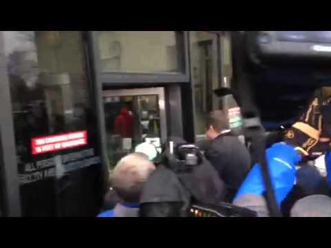 Jason Van Dyke arrives at court