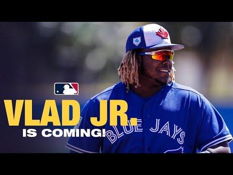 Vladimir Guerrero Jr Is Coming to A Ballpark near you