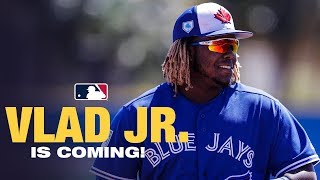 Vladimir Guerrero Jr Is Coming to A Ballpark near you