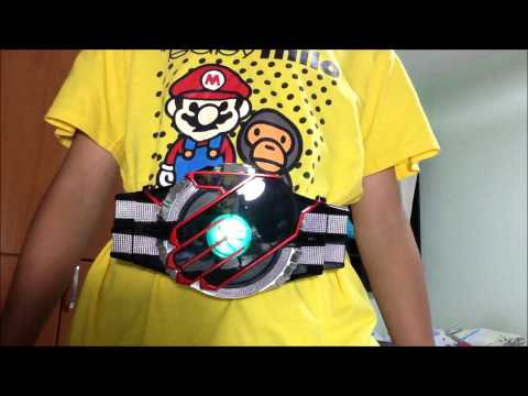 Kamen Rider Delta Belt Kamen Rider Beast Demo...