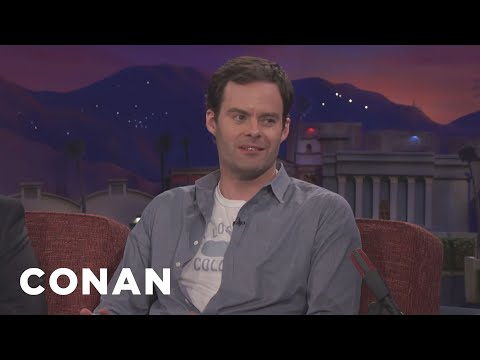 """Bill Hader Is A Bad Actor In """"Barry""""  - CONAN on TBS"""