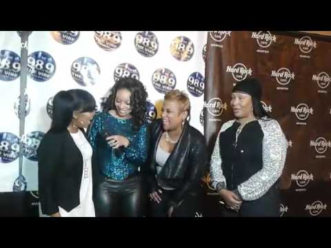 Interview bloopers - Hip Hop Legends interview (Miche'le, Yo-Yo, Roxanne Shaunte & Lady of Rage