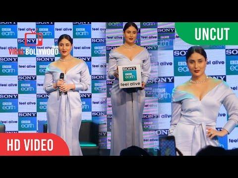 UNCUT - Sony BBC Earth New Channel Launch | Kareena Kapoor Khan | Sony TV