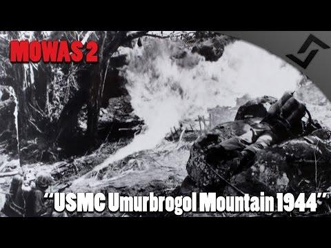 Men of War: Assault Squad 2 - USMC Umurbrogol Mountain Peleliu 1944 - Pacific Gameplay