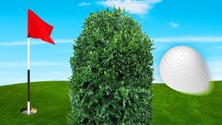 IMPOSSIBLE BLIND HOLE IN ONE!? (Golf It)