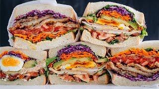 Download How to Make Wanpaku Sandwich (Recipe) わんぱくサンドの作り方 (レシピ) Mp3 and Videos