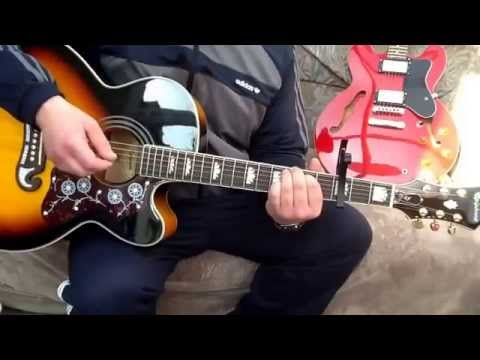 Noel Gallagher-The Dying of the light-Acoustic guitar lesson. - YouTube