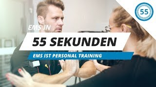 EMS ist Personal Training // EMS in 55 Sekunden