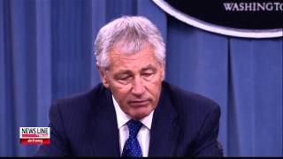 "Hagel: N. Korea skating close to ""dangerous line"" 헤이글 ""북, 위험한 선에 근접"""
