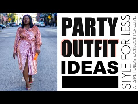 HOLIDAY PARTY OUTFITS LOOKBOOK I CASUAL + DRESSY I FOR WORK + NYE & MORE I CURVY PLUS SIZE FASHION