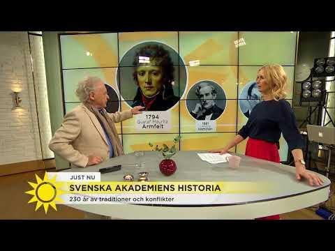 Svenska Akademiens historia - 230 år av konflikter & traditioner. - Nyhetsmorgon (TV4)