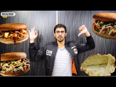 BEST ANDA SHAMI BURGER IN LAHORE + BROADWAY PIZZA | FOOD REVIEW |