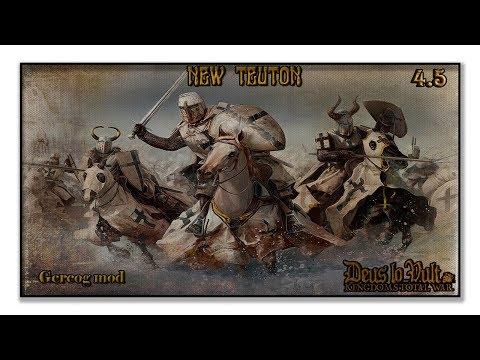 NEW TEUTON 4.5 – Киликийская Армения – Стены Антиохии #01
