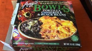 AMYS Tortilla Casserole & Black Beans Bowl Review