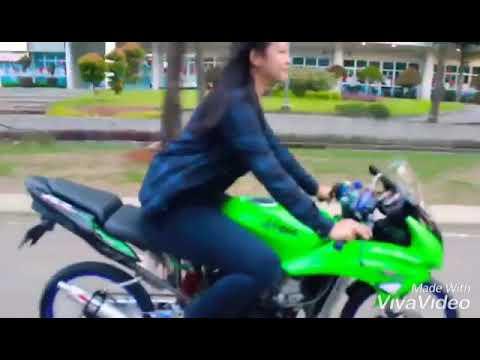 Story WA Cewe Naik Ninja Versi DJ Ngelabur Langit