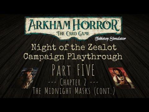 Arkham Horror LCG campaign - Pt. 5 - The Midnight Masks (cont.)