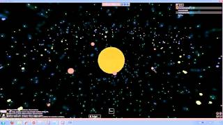 ROBLOX - Solar system formation in 2 minutes