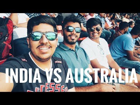 India Vs Australia 3rd ODI Vlog | Manipal To Bangalore | M. Chinnaswamy Stadium