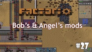 Factorio (Bob's mods + Angel's mods) #27 - FNEI и контроллеры на транзисторах