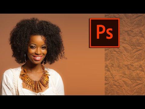 Ретушь кожи в Photoshop | Метод частотного разложения
