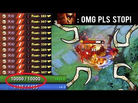 OMG 10.000 HP Delete SF Mid Crazy Raid Boss Pudge Epic Battl