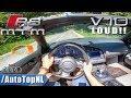 Audi R8 V10 SPYDER MTM | STRAIGHT PIPE | POV Test Drive by AutoTopNL