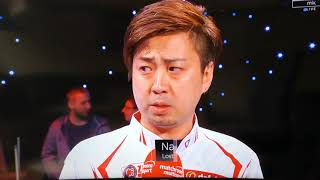 Bizarre & Hilarious Interview By Naoyuki Oi At World Pool Masters 2019
