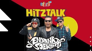 Endank Soekamti ditantang bikin lagu dadakan. Bisa ga ya?? #HITZTALK Elfara FM with Endank Soekamti