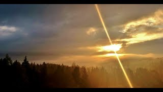 Bieszczadzkie, jesienne mgły (HD)