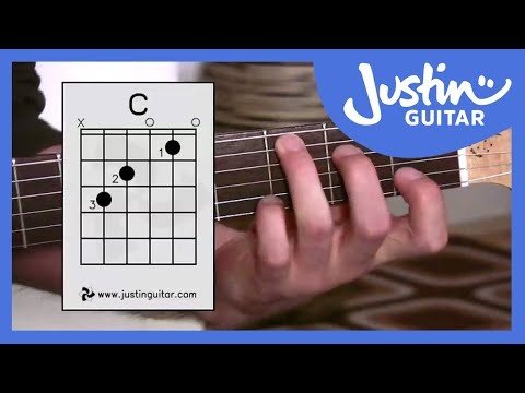 The C Chord Justinguitar