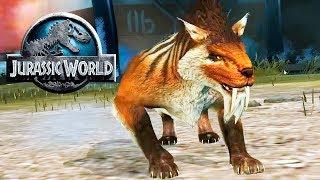 Кайнозойские бои свирепых млекопитающих Jurassic World The Game