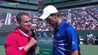 Djokovic/Sampras vs Haas/McEnroe Exhibition Doubles Match | Indian Wells 2019